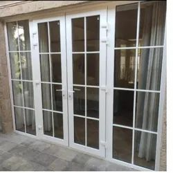 White UPVC French Door, For Home