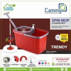Trendy Bucket Spin Mop