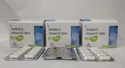 Doxofylline 400mg+Ambroxol 30mg Tablet