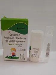 Cefixime Potassium Clavulanate oral suspension