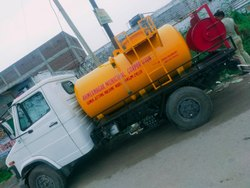 Sewer Jetting Machine Mounted on LCV Truck Chassis