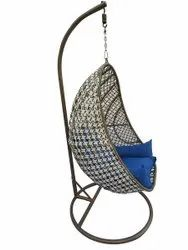 Single Seater Hanging Swing With Stand