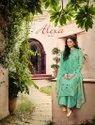 Ladies Designer Embroidered Sharara Suit