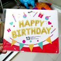 Foil Balloons - Happy Birthday