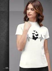 Cotton Meghu Fashion Present Designer T Shirt, Size: M,XL, Age Group: 15-55