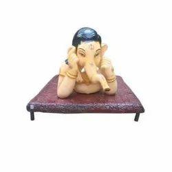 Bal Ganesha In Lying Down Statue
