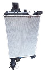 Aluminium Commercial Light Vehicle Radiator