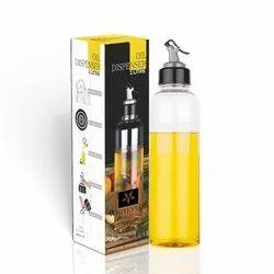 Leak-Proof Transparent Finish Unbreakable Oil Dispenser Bottle- 1000 ML