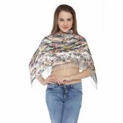 Sati Casual Wear Digital Printed Ruhana Top, Size: Large