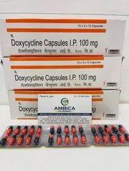 Doxycycline Capsules Bp 100mg