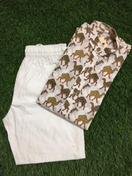 Cotton Kids Kurta Pajama Set