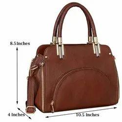 S K COFEE Ladies Leather Handbags, For Casual Wear, Gender: Women