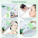 ORILEY Ice Roller Face Massager Facial Skin Care Tool with Cool Gel Beads
