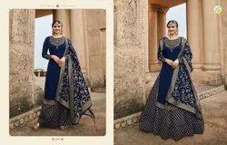 Georgette Prachi Desai Salwar Suit Wholesale Catalog 8 Pcs