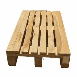 Rectangular Four Way Wooden Pallet, For Shipping