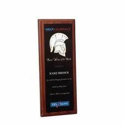 Office Wooden Award Plaque