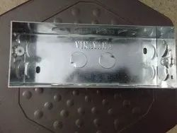 VINAYAKA Steel Electrical GI Metal Box, For Switches