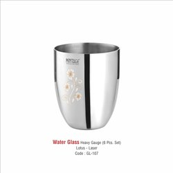 Stainless Steel Water Drinking Glass-107