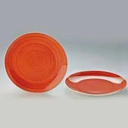 Handpainted Ceramic Dinner Plates Dinnerware Serving Plate Thali Ceramic Plates For Dinner