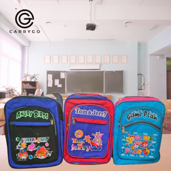 3x3 Matty Printed Kids School Backpack