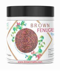 Diabetes Brown Fenugreek Powder 70 gm, Packaging Type: Jar