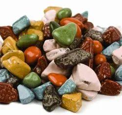 Stone Shape Eggless Chocolate