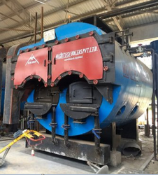 Wood & Coal Fired 2500 kg/hr Package Steam Boiler, IBR Approved
