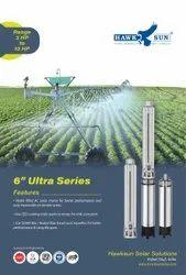 6 7.5HP AC Solar Submersible Pump Set