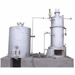 Wood & Coal Fired 160 Kg/Hr Steam Boiler