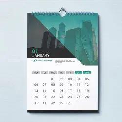 1-5 Days Art Paper Corporate Wall Calendar Printing Service, in Mumbai