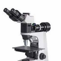 Microscope Metallurgical Calibration With Logo