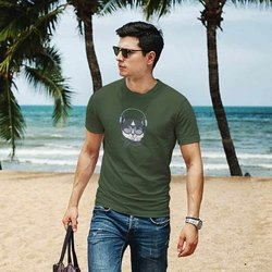 iKraft Men's Green T-Shirt