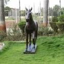 Riding Horse FRP Statue In Real Shape