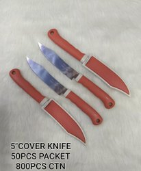 Stainless Steel Natural Cover Knife, For Personal