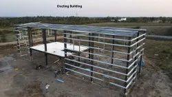 Erecting Building