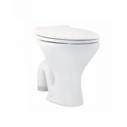 White Parryware Petite Ivory Water Closet, Installation Type: Floor Mounted, Dimension: 460x350x400 mm