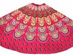 Cotton Sanganeri Print Skirt