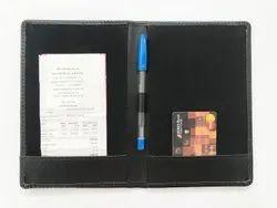 Leather Hotel Bill Folder