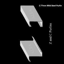 2.77mm Mild Steel Purlin