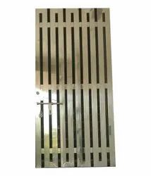 Stainless Steel Security Door, For Home, Size: 8 X 4.5 Feet