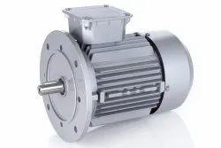 0.5 hp B5 flange three phase  motor