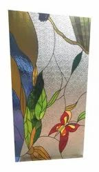 Toughened Laminated Colorful Glass, Size: 100X75inches