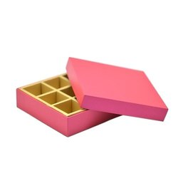 Cardboard Rectangle Chocolate Box, For Food, Box Capacity: 1-5 Kg