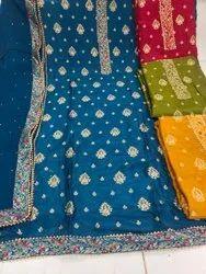 Unstitched Ladies Suit Material