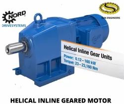Unicase Helical Inline Geared Motor