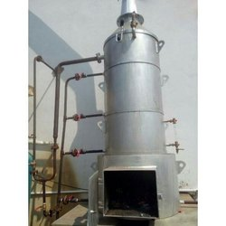 Wood Fired 500 kg/hr Vertical Steam Boiler