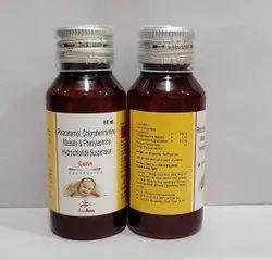 Paracetamol125mg+Chlorpheniramine Maleate 1mg+Phenylephrine 2.5mg syrup