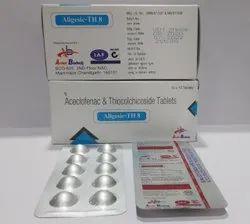 Aceclofenac 100mg + Thiocolchicoside 8mg Tablet