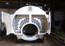 Coal Fired 1000 kg/hr Horizontal Fire Tube Steam Boiler