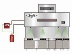 SAFE-ON Kitchen Fire Suppression System